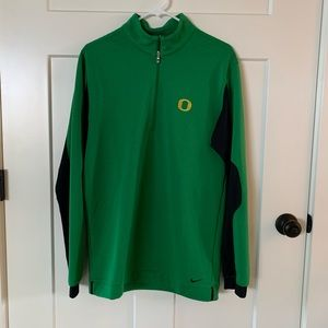 Men's Nike Golf half-zip, Oregon Ducks 💚💛🖤
